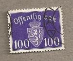 Stamps Norway -  Escudo