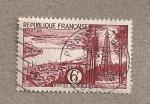 Sellos de Europa - Francia -  Región bordelesa