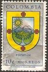 Stamps Colombia -  escudo de popayan