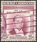 Sellos del Mundo : America : Rep_Dominicana :  XXV anivº de la era trujillo