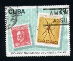 Sellos de America - Cuba -  150 aniv. nacimiento carlos j. finlay