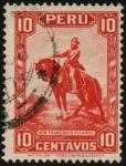 Sellos de America - Perú -  Don Francisco Pizarro.