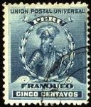 Sellos del Mundo : America : Perú : Francisco Pizarro. FRANQUEO.