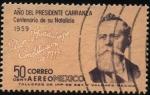 Sellos del Mundo : America : México : Plan de Guadalupe. Constitución de 1917. 1959 año del Presidente Carranza, 100 años de su Natalicio.