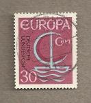 Sellos de Europa - Alemania -  Europa emisión 1967