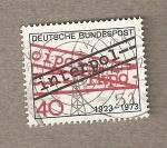 Sellos de Europa - Alemania -  50 Aniv de INTERPOL