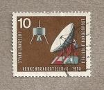 Sellos de Europa - Alemania -  Comunicaciones por satélite