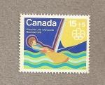 Stamps Canada -  Vela, Olumpiada Montreal