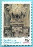 Stamps Equatorial Guinea -  ESPAÑA - Ciudad vieja de Santiago de Compostela