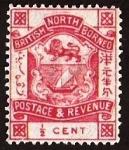 Stamps : Asia : Malaysia :  British North Borneo