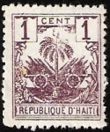 Stamps America - Haiti -  ESCUDO DE ARMAS