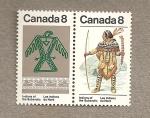 Stamps Canada -  Indios del Norte