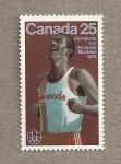 Stamps Canada -  Maratón, Olimpiada Montreal