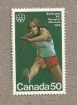Stamps Canada -  Carrera de vallas,Olimpiada Montreal