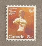 Stamps Canada -  Juegos Olímpicos Montreal, Esgrima