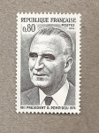 Stamps France -  Georges Pompidou