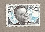 Stamps France -  André Siegfried, profesor ciencia política