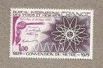 Sellos de Europa - Francia -  100 Aniv. Oficina Internacional de Pesos y medidas