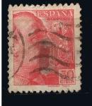 Stamps Spain -  Edifil  nº  869 General Franco con apellido del grabador  Sanchez Toda