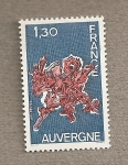 Stamps France -  Auvernia