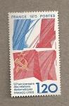 Stamps France -  50 Aniv. relaciones diplomáticas Francia-URSS