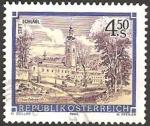 Sellos de Europa - Austria -  Abadia de Schlägl