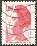 Sellos de Europa - Francia -  2220 - Libertad de Gandon