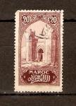 Stamps Morocco -  ENTRADA  A  CHELLA