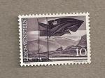 Stamps Liechtenstein -  Banderas