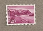 Stamps Liechtenstein -  Montañas