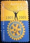 Sellos del Mundo : Oceania : Australia : Centenary of rotary international