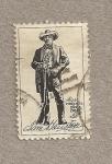 Stamps United States -  Sam Houston, presidente de Texas y senador