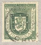 Stamps Chile -  exposicion filatelica naciona