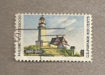 Stamps United States -  Faro en Maine