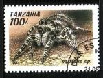 Stamps Africa - Tanzania -  Araña