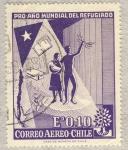 Sellos de America - Chile -  pro año mundial del refugiado