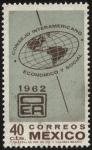 Stamps Mexico -  Emblema de la OEA. Consejo Interamericano Económico y Social.