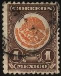 Stamps America - Mexico -  Escudo de armas México.
