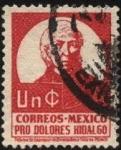 Sellos del Mundo : America : México : Tasa obligatoria pro memorial del Municipio de Dolores Hidalgo, Cuna de la Independencia Nacional. M