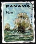 Sellos de America - Panamá -  Pintores: Roque Gameiro