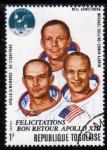Stamps Africa - Togo -  Apolo XIII: Tripulacion Apolo XI