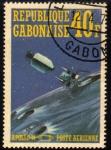 Sellos del Mundo : Africa : Gabón : Apolo 14