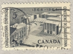 Stamps Canada -  Charlottetown Conference 1864-1964