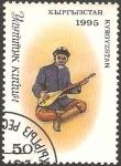 Stamps Asia - Kyrgyzstan -  músico
