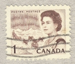 Sellos de America - Canadá -  Queen Elizabeth II, Northern Regions
