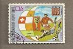 Sellos de Africa - Guinea Ecuatorial -  Copa del Mundo de Fútbol
