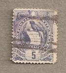 Stamps America - Guatemala -  Escudo nacional