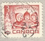 Sellos del Mundo : America : Canadá : Children singing Carols