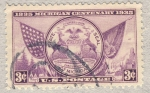 Stamps United States -  Michigan Centenary
