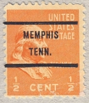 Stamps United States -  Benjamin Franklin
